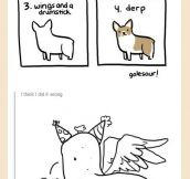 How to draw corgis…