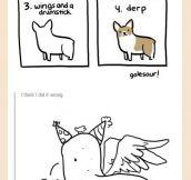 How to draw corgis…