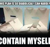 Evil boxes have a devious plan…