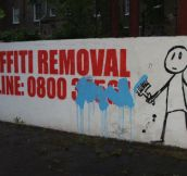 Graffiti removal…