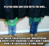 Playing with my kids…