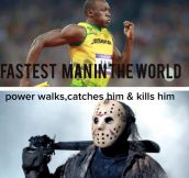 Horror movie logic…