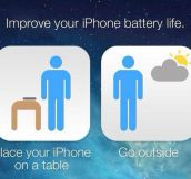 Recommendation for better battery life…