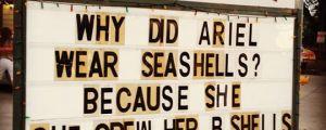 The reason Ariel wore seashells…