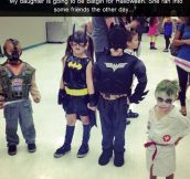 Batman and his friends…