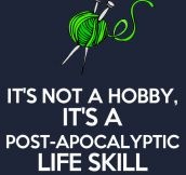 It's not a hobby…