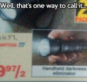 Another way to call it…
