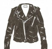Getting a leather jacket…