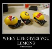 When life gives lemons to gamers…