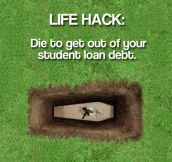 How to get out of your student debt…