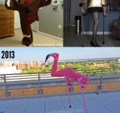 When life hands you lemons, become a flamingo…