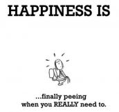 The true meaning of happiness…