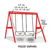 Mood swings…