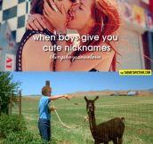 Cute nicknames…