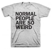 Normal people…