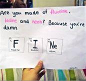 Chemical romance…