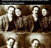 They used to smile too…
