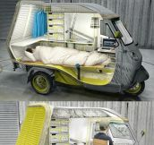 Awesome One Man Camper…