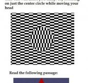 I heard you liked optical illusions…