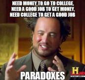 Paradoxes…