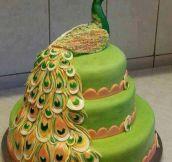 Peacock Cake…