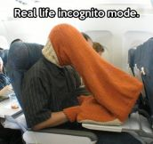 Incognito mode…