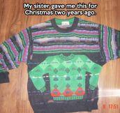 Meta sweater…