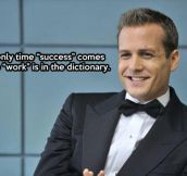 Wise words from Gabriel Macht…