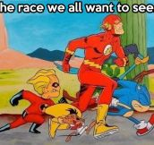 A race of epic proportions…