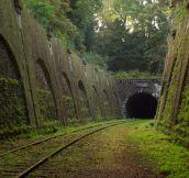 Abandoned railroad in Paris…