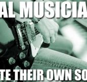 Real musicians…