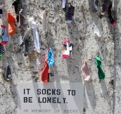 Lonely socks…
