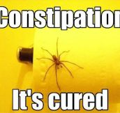 How to cure constipation…