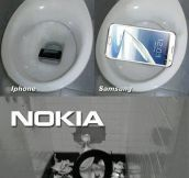The problem with Nokia phones…