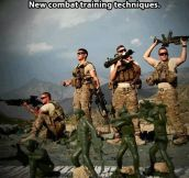 Combat training techniques…