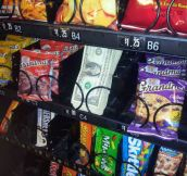 Vending machines just got a lot better…