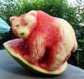 Watermelon bear…