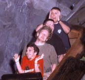 Amazing Roller Coaster Faces
