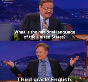 America's National Language