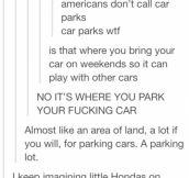Car parks?