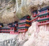 Cliff Hanging Monastery, China