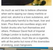 Drinking without hangovers?!