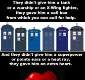 No one has more heart than The Doctor