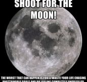 Shoot For The Moon!