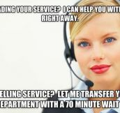 Scumbag Call Center