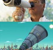 THE NASAL TELESCOPE