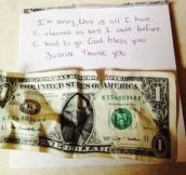 Thank you for restoring my faith in humanity!