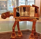 The coolest Star Wars liquor cabinet