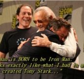 The legendary Stan Lee & RDJ
