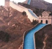 WHAT THE GREAT WALL OF CHINA SHOULD HAVE BEEN…